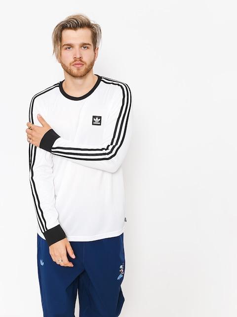 Longsleeve adidas Club Jersey (white/black)