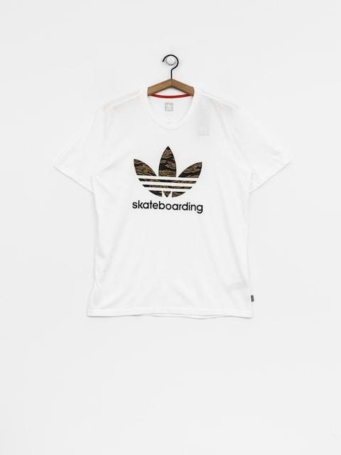 T-shirt adidas Cmo 3.0 (white/camo print/collegiate orange)