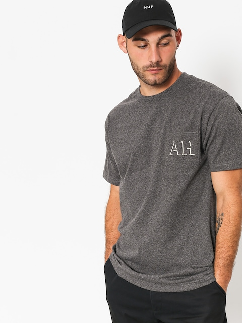 T-shirt Antihero Drphro Pkt (charcoal heather)