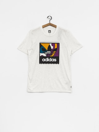 T-shirt adidas Cog Lgo (pale melange/tribe purple/real teal)