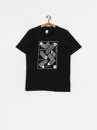 T-shirt adidas Rep (black/white)