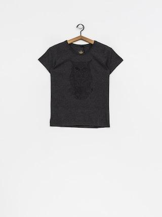 T-shirt Majesty Owl Lady Wmn (graphite)