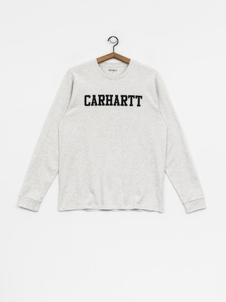 Longsleeve Carhartt WIP College (ash heather/dark navy)