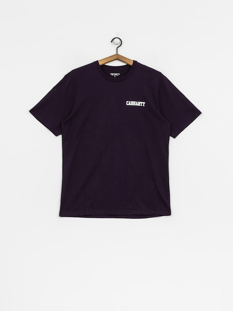 T-shirt Carhartt WIP College Script (lakers/white)
