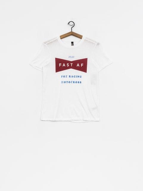 T-shirt Fox Fast Af Wmn (wht)