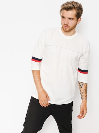 T-shirt Brixton Johan 3/4 Slv (off white)