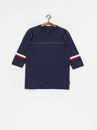T-shirt Brixton Johan 3/4 Slv (washed navy)