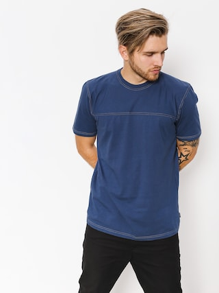 T-shirt Brixton Bismark (washed navy)