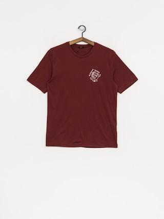 T-shirt Brixton Devout Prem (brick)