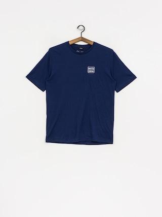 T-shirt Brixton Bering Prem (coblat)