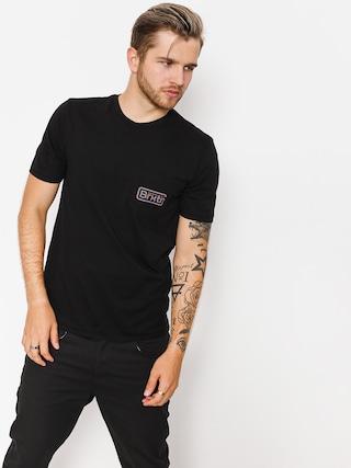 T-shirt Brixton Springfield Pkt (black)