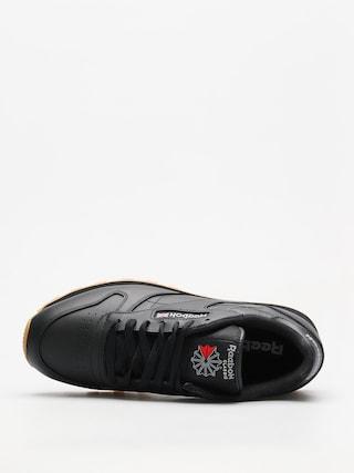 Buty Reebok Cl Lthr (black/gum)
