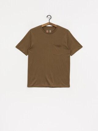 T-shirt Brixton Basic Pkt (dusty olive)
