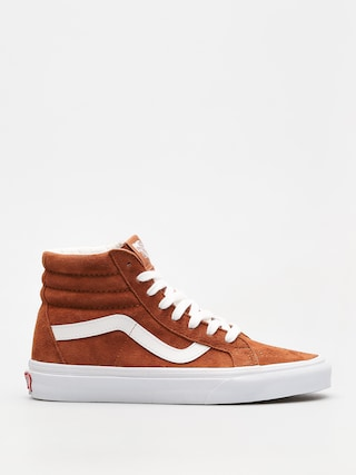 Buty Vans Sk8 Hi Reissue (leather brown/true white)
