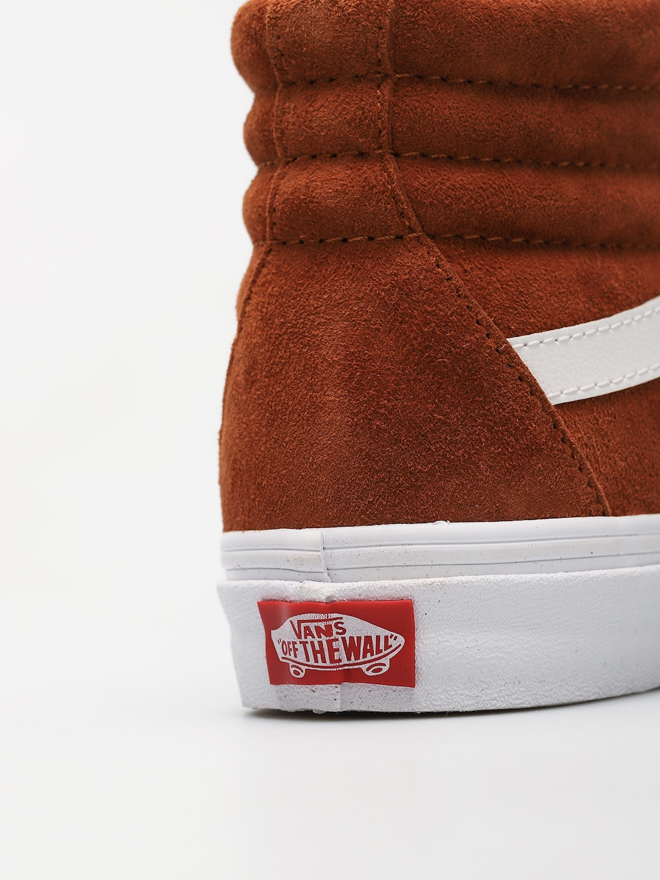 Buty Vans Sk8 Hi Reissue (leather browntrue white)