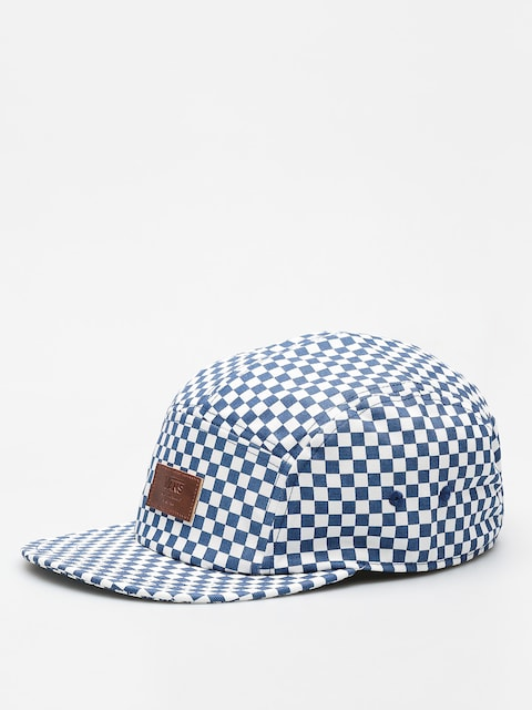 Czapka z daszkiem Vans Davis 5 Panel ZD (true blue/white check)