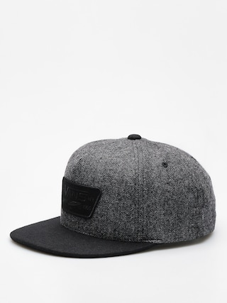 Czapka z daszkiem Vans Full Patch Snapback ZD (heather grey/black)