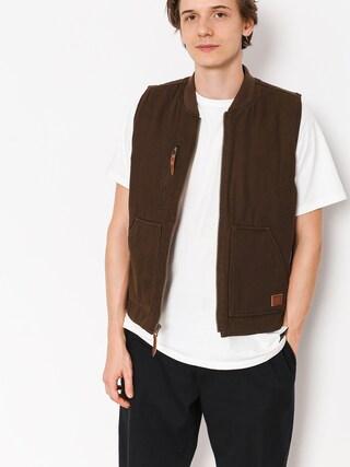 Kamizelka Brixton Abraham Vest (brown)