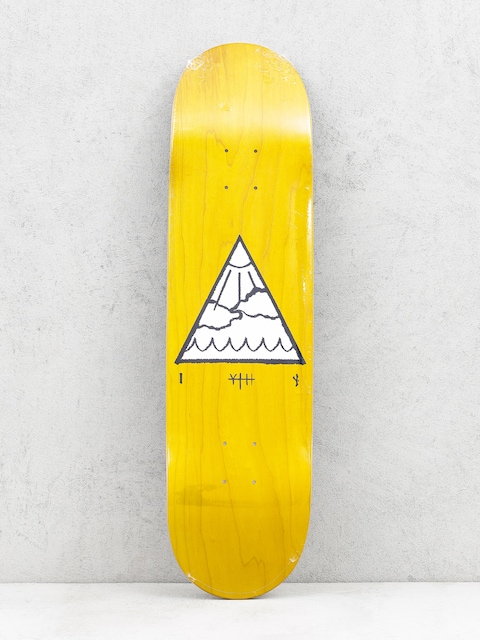 Deck Youth Skateboards Triangle Logo (yellow)