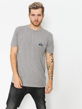 T-shirt Quiksilver Solid Left (medium grey heather)