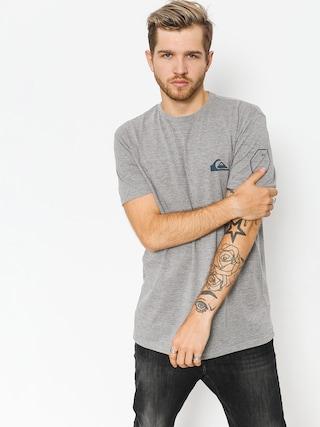 T-shirt Quiksilver Solid Left (medium grey heather)