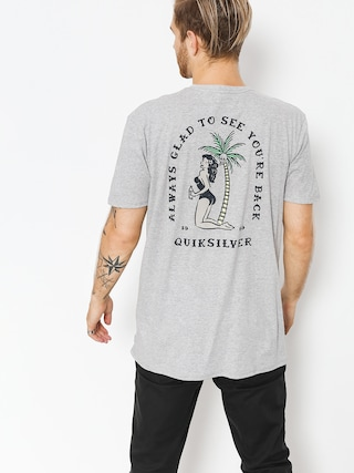 T-shirt Quiksilver Glady Our E Back (sleet heather)