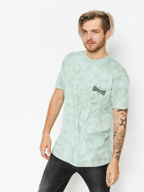T-shirt Quiksilver Rock In Rails (blue haze)