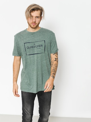 T-shirt Quiksilver Quik In The Box (dark forest heather)