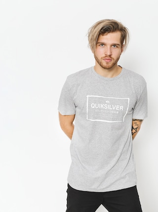 T-shirt Quiksilver Quik In The Box (sleet heather)