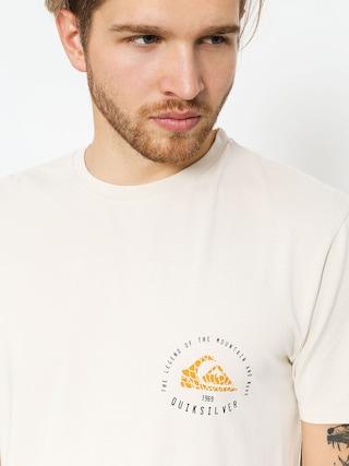 T-shirt Quiksilver Rising Giant (oatmeal)