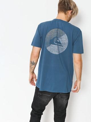 T-shirt Quiksilver Shook Up (dark denim)