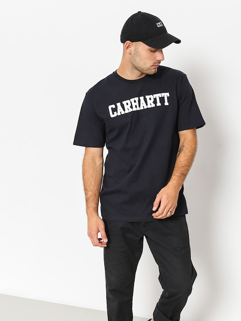 T-shirt Carhartt WIP College (dark navy/white)