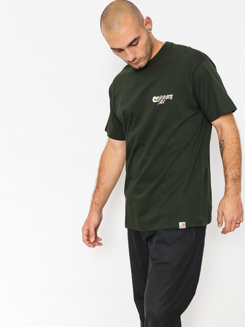 T-shirt Carhartt WIP Scratch (loden)