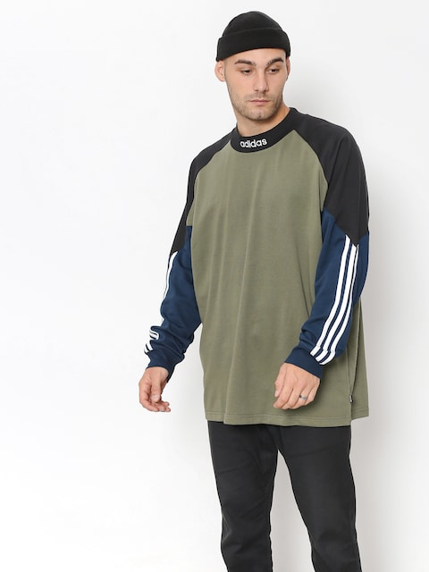 Bluza adidas Goalie (base green/black/collegiate navy)