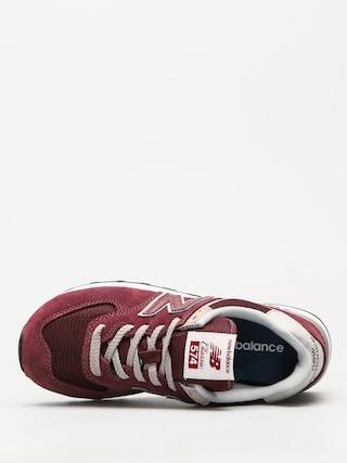 Buty New Balance 574 Wmn (burgundy)