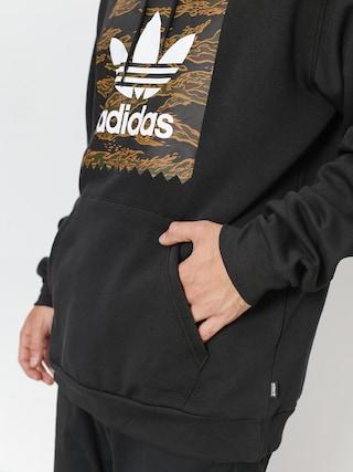 Bluza z kapturem adidas Camo Bb HD (black/camo print/collegiate orange)