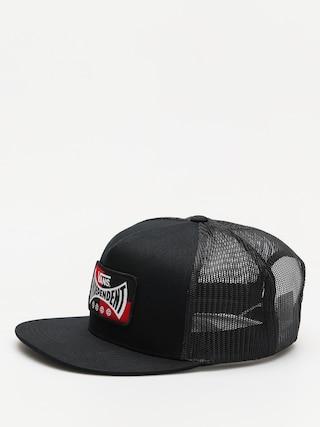 Czapka z daszkiem Vans X Independent Snapback ZD (black)
