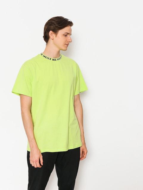 T-shirt RipNDip Mbn Jacquard Rib (lime)