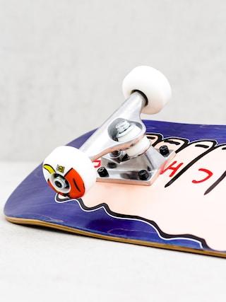 Deskorolka Toy Machine Fists Woodgrain (blue/pink)