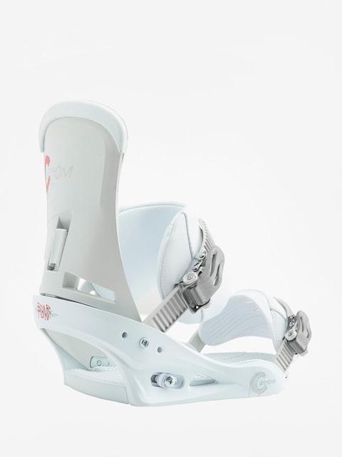 Wiązania snowboardowe Burton Custom (white)