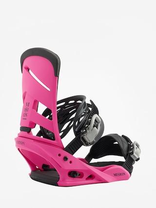 Wiązania snowboardowe Burton Mission (pink)