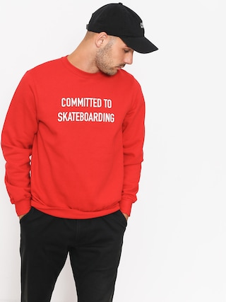 Bluza Circa Committed (red)