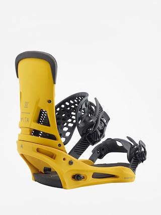 Wiązania snowboardowe Burton Malavita (colonel mustard)
