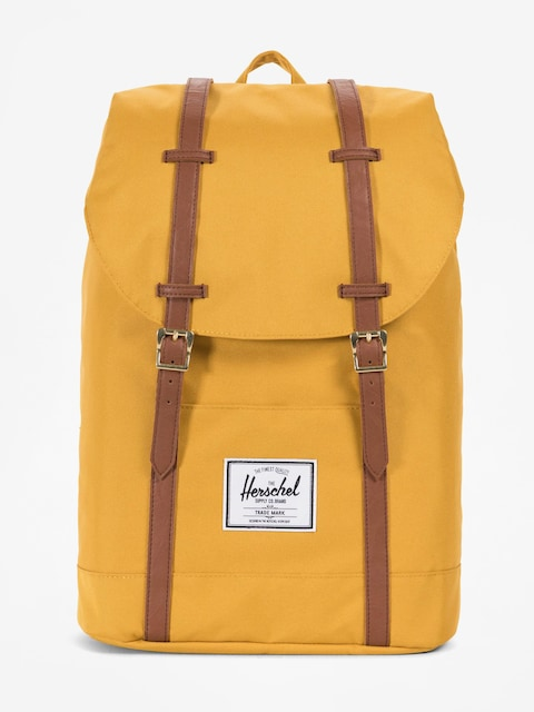 Plecak Herschel Supply Co. Retreat (arrowwood/tan synthetic leather)