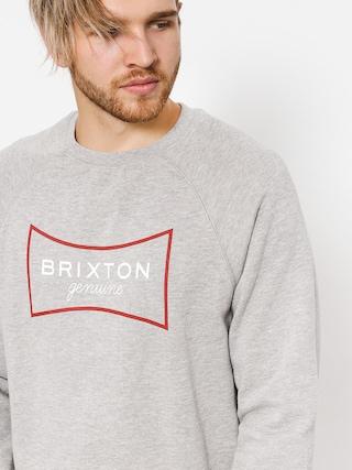 Bluza Brixton Ramsey III Crew (htgry)