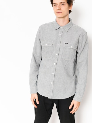 Koszula Brixton Bowery Ls Flannel (off white/dusty blue)