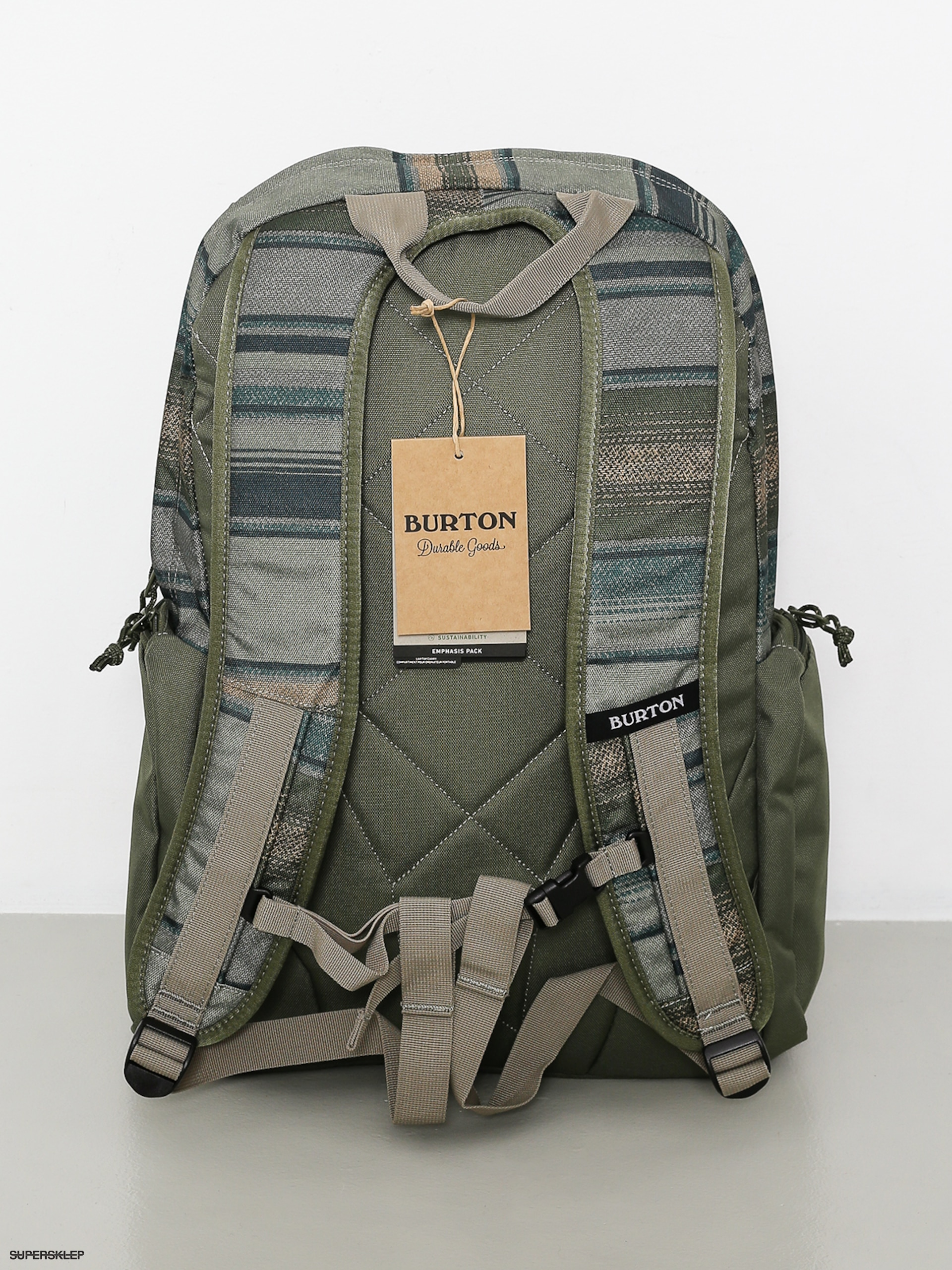 c895f0a727f24 Plecak Burton Emphasis (tusk stripe print)