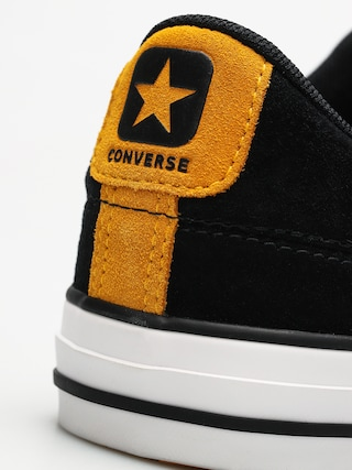 Trampki Converse Star Player Ox (black/white/university gold)