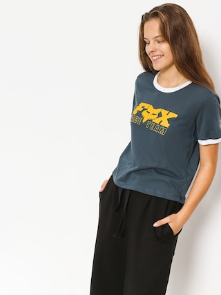 T-shirt Fox Race Team Crop Wmn (nvy)