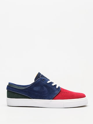 Buty Nike SB Zoom Stefan Janoski (red crush/blue void white midnight green)